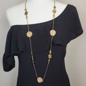 Chico's Long gold necklace